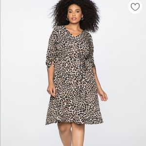NEW Leopard Wrap Dress!